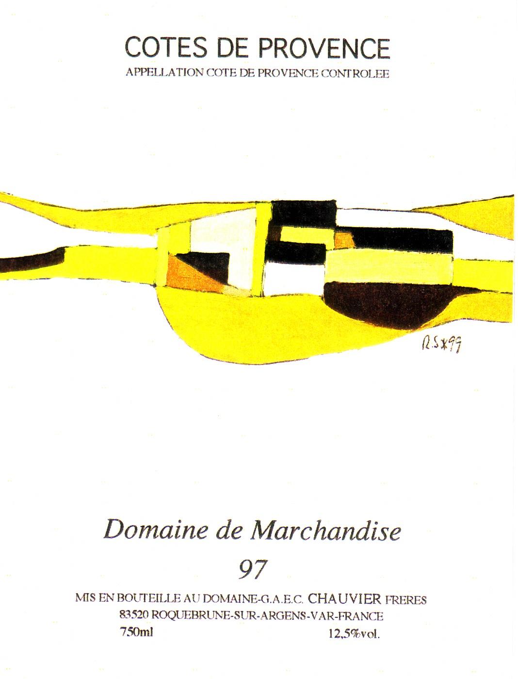 COTE DE PROVENCE 1999